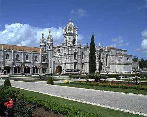 リスボンのジェロニモス修道院とベレンの塔の画像 p1_15